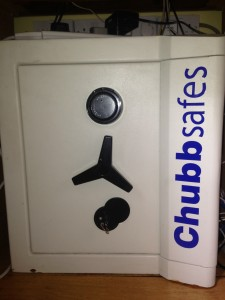 Chubb Europa Safe opened by B&D Safe Opening, London