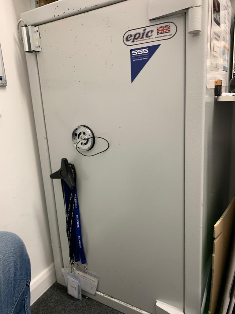 Epic safe in Kingston upon Thames, Surrey