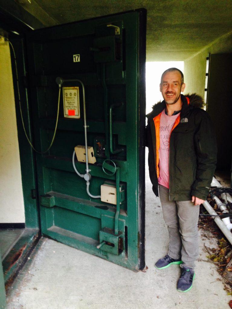 Battle of Britain bunker - bunker door