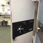 Arfe 8005 safe vault door opened, central London