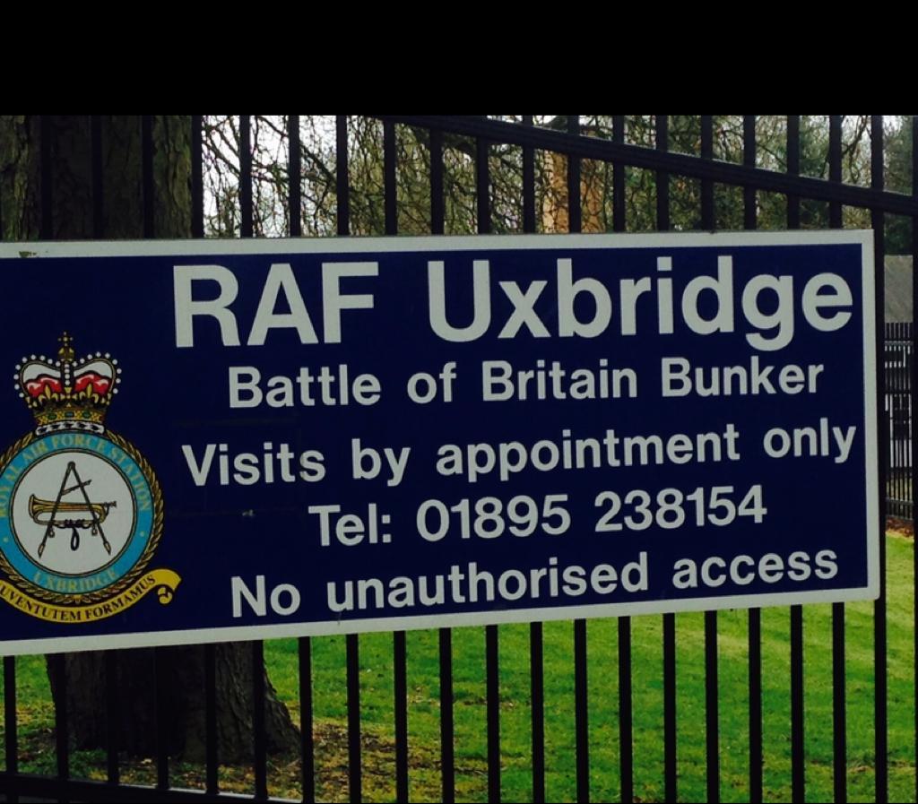 RAF Uxbridge Battle of Britain Bunker