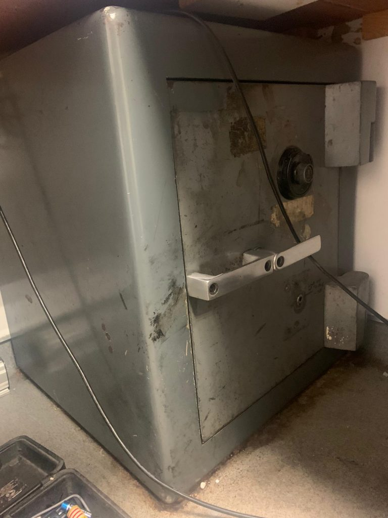 SLS 2500 security safe with lost code in West London