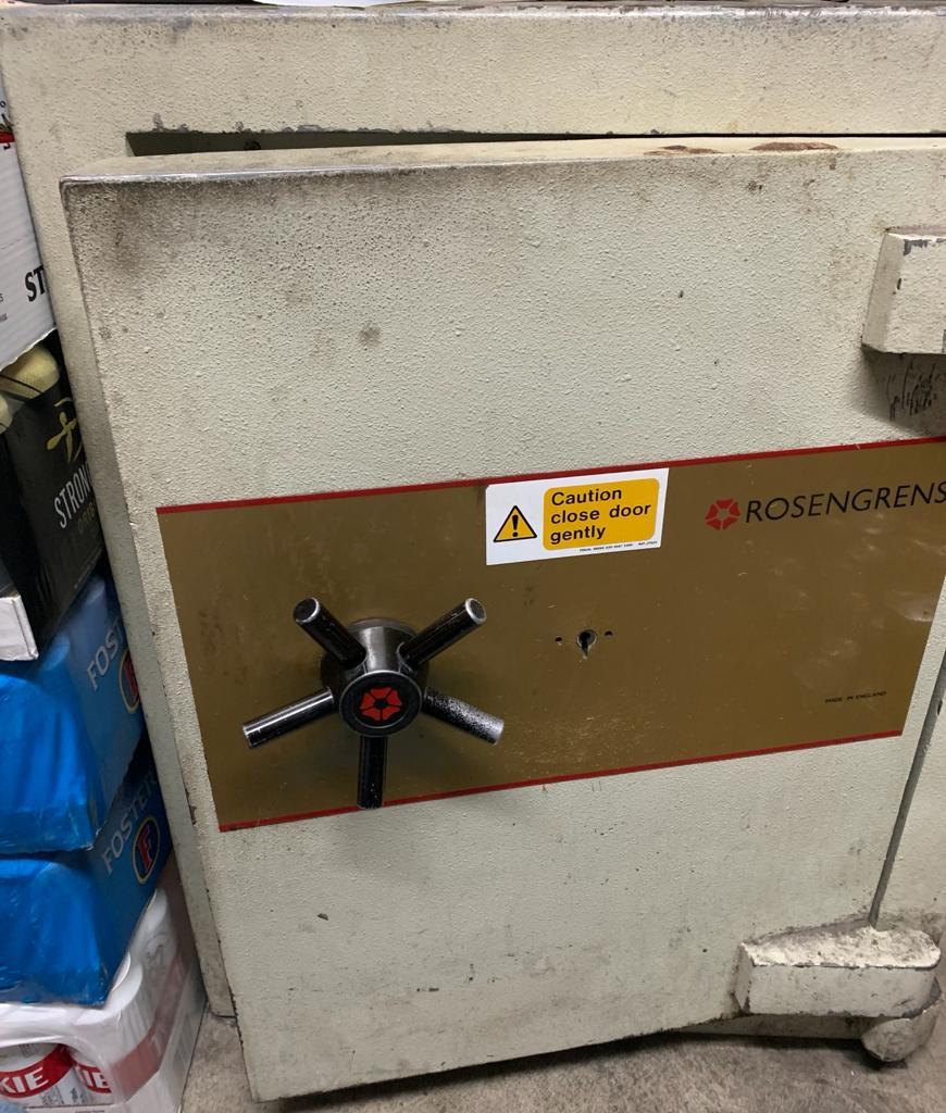 Rosengrens safe cracked in London